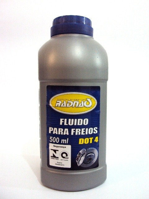 FLUIDO PARA FREIOS DOT4 RADNAQ 500ML