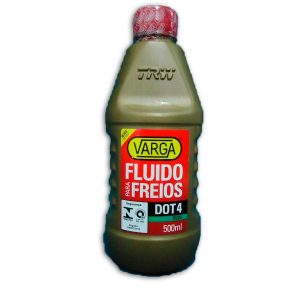 FLUIDO PARA FREIOS DOT4 VARGA 500ML